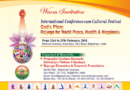 "INTERNATIONAL CONFERENCE ""GOD'S PLAN – YOGA FOR WORLD PEACE, HEALTH AND HAPPINESS"""