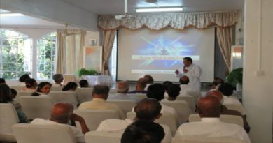 Workshop on 'Super Mind Super Future' in Mauritius