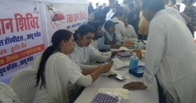 Blood Donation Camp in Global Hospital